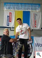 Николай Сергеев на Чемпионате Европы EPA 26-29 мая 2010 г.