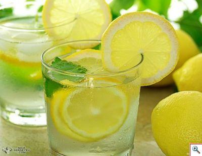 Коктейль Леденящий лимон