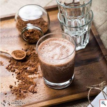 Протеиновый коктейль с какао